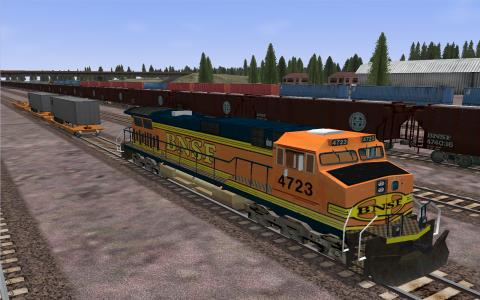 Microsoft Train Simulator - title cover
