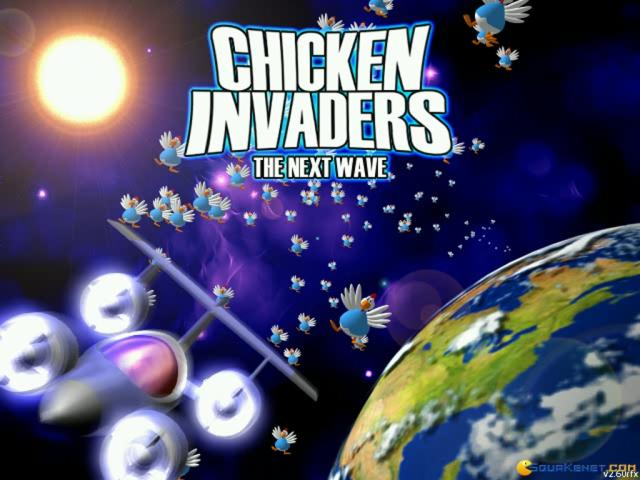 Chicken Invaders 2: The Next Wave - title cover