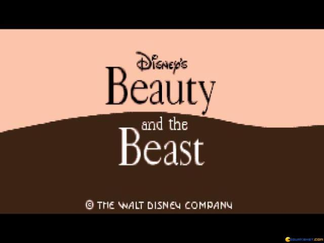 Beauty and The Beast - game cover