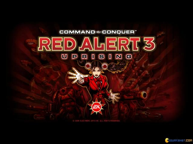 Command and Conquer - Red Alert 3 - Uprising - title cover