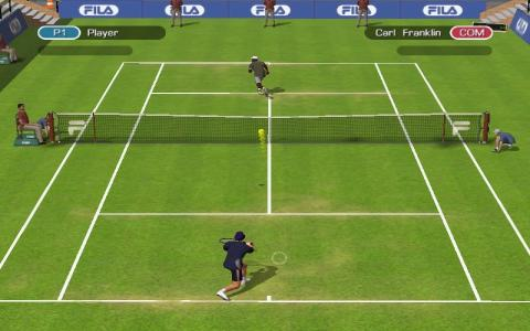 Fila World Tour Tennis - game cover