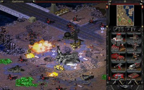 Command & Conquer: Tiberian Sun - Firestorm - title cover