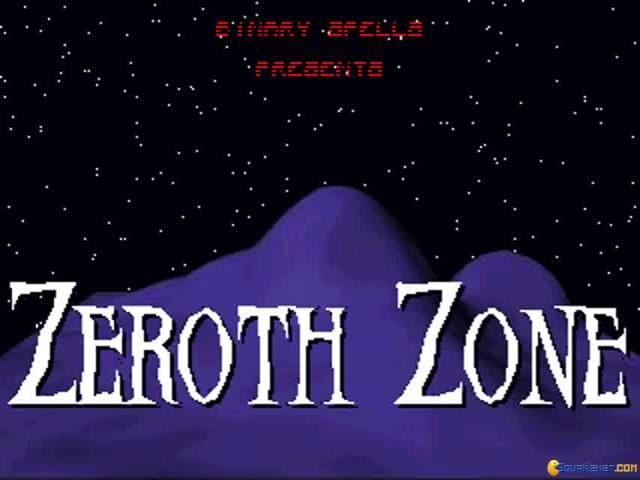 Zeroth Zone - title cover