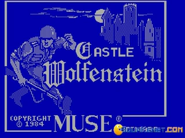 Castle Wolfenstein - title cover