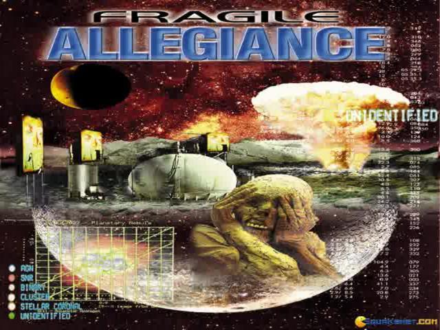 Fragile Allegiance - game cover