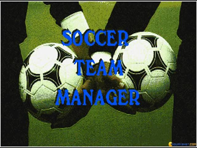 Soccer Team Manager - title cover