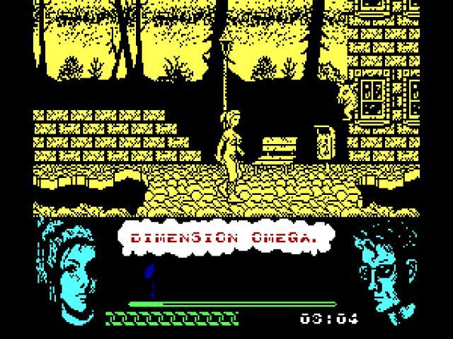 Dimensión Omega - game cover