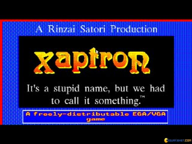 Xaptron - title cover