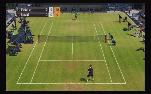 Virtua Tennis 2009 - title cover
