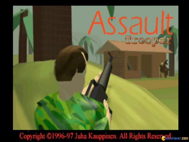 Assault Trooper - title cover