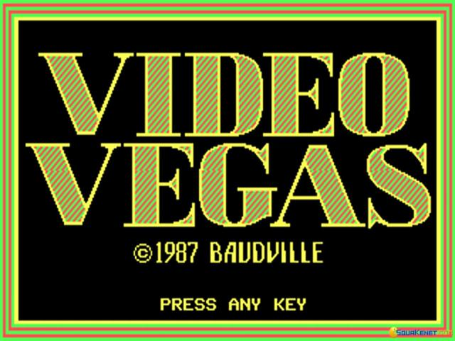 Video Vegas - game cover