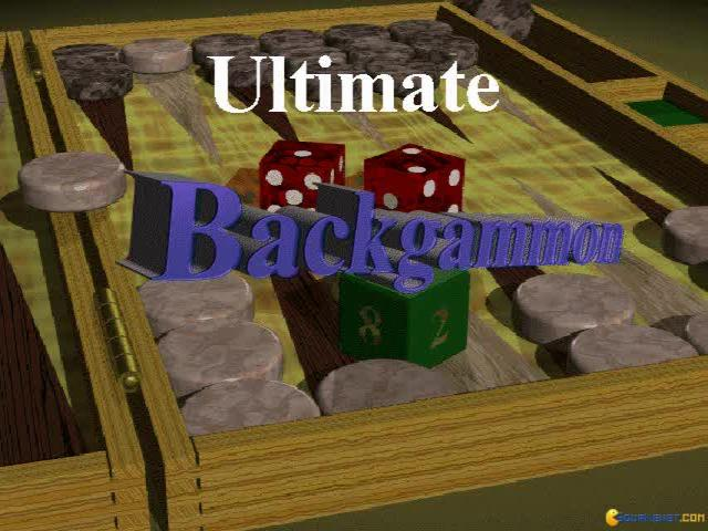 Ultimate Backgammon - title cover