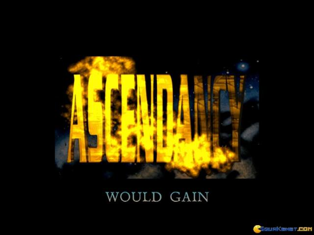 Ascendancy - title cover