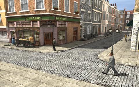 Sherlock Holmes: Nemesis - game cover