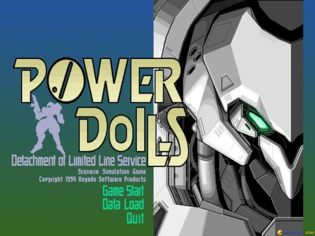PowerDolls - title cover