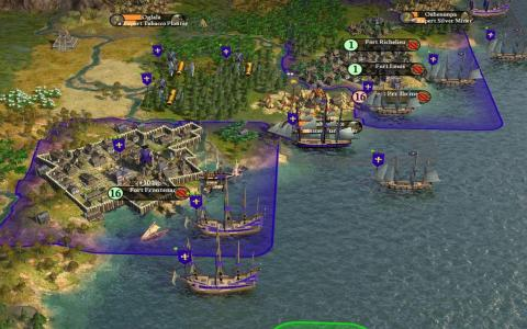 Civilization IV: Colonization - title cover