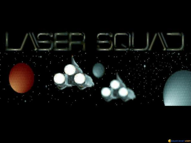 Laser Squad - title cover