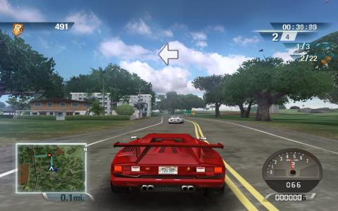 Test Drive Unlimited 2 - title cover