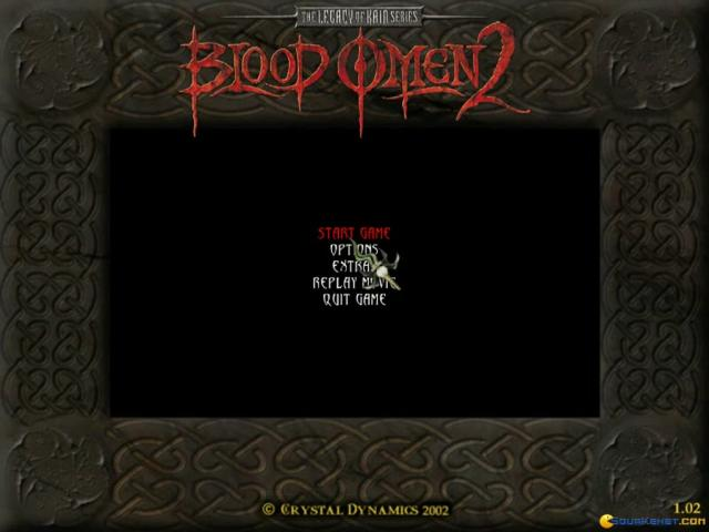 Legacy of Kain: Blood Omen 2 - title cover