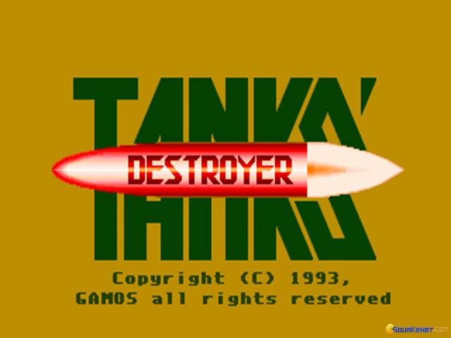 Tanks Destroyer - game cover