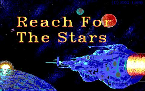 Reach for the Stars: The Conquest of the Galaxy - title cover