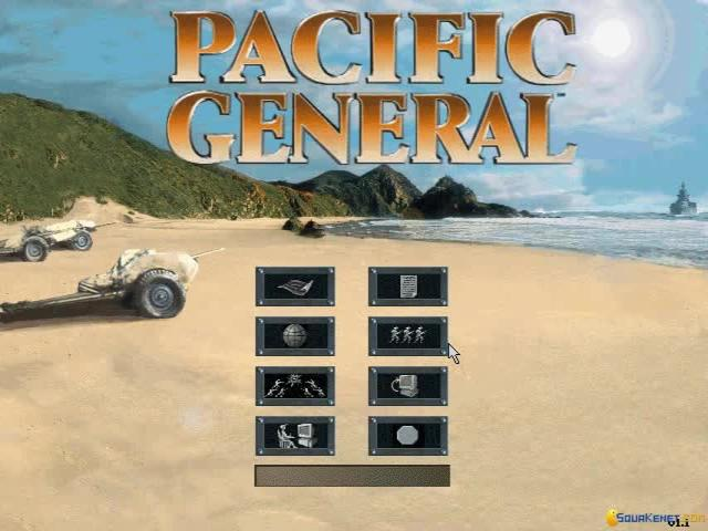 Pacific General - game cover