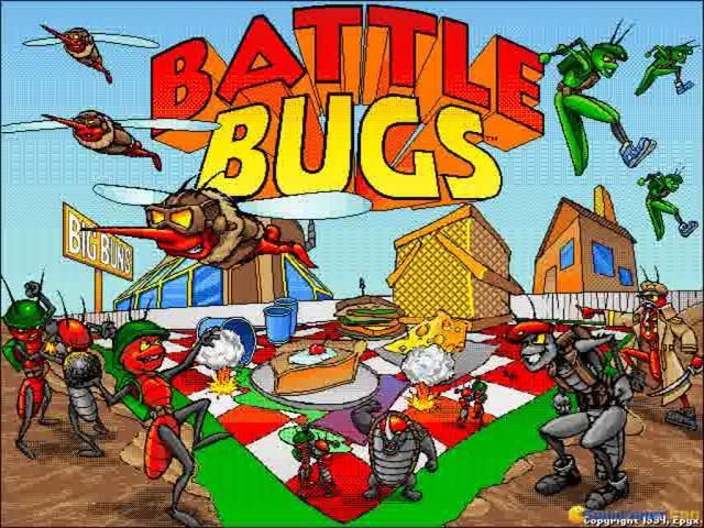Battle Bugs - title cover