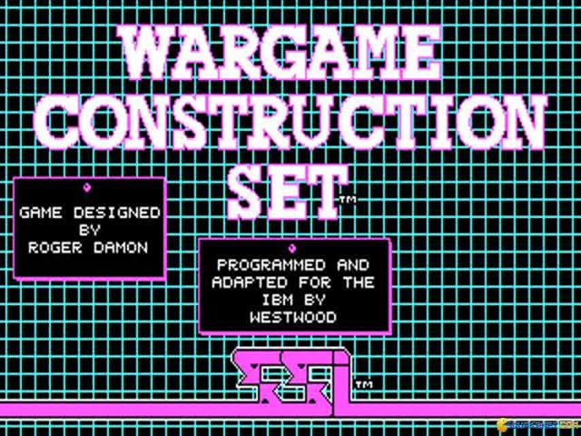 Wargame Construction Set - title cover