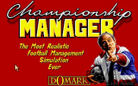 Championship Manager - title cover