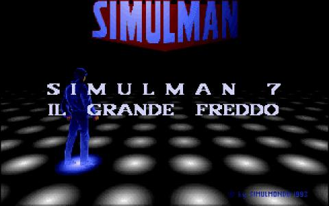 Simulman - 07 - Il grande freddo - title cover