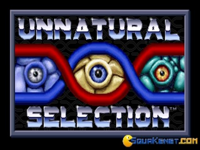 Unnatural Selection - title cover