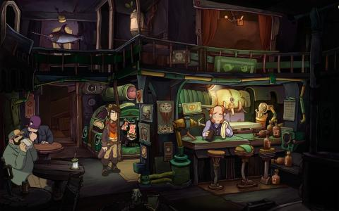 Deponia 2: Chaos on Deponia - title cover