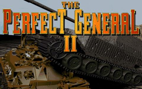 Perfect General 2 - game cover