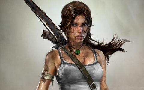 Tomb Raider (2012) - title cover