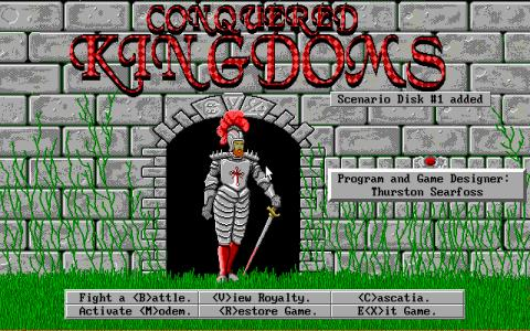 Conquered Kingdoms - title cover