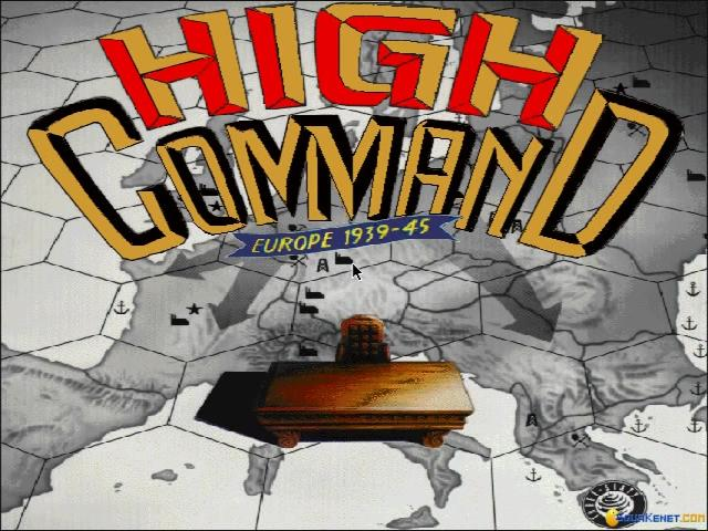 High Command: Europe 1939-1945 - title cover