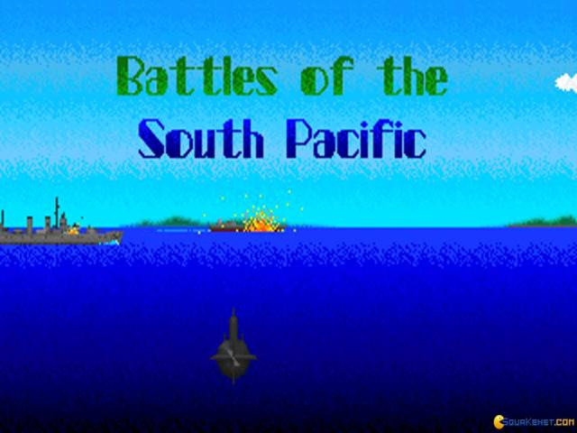 World War II: Battles of South Pacific - title cover