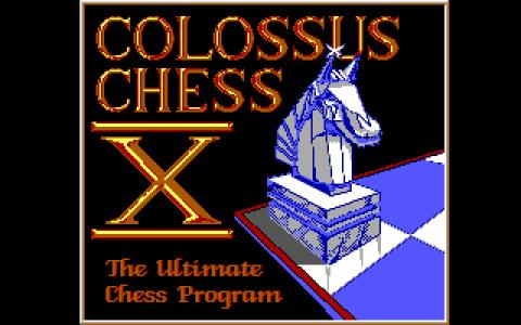 Colossus Chess X - title cover