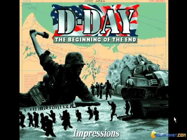 D-Day: Beginning of the End - game cover