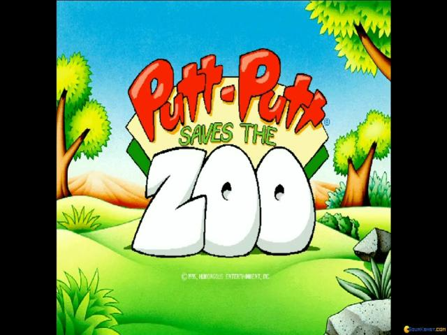Putt-Putt Saves the Zoo - game cover