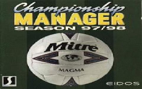 Championship Manager 97/98 - game cover
