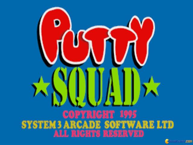 Putty Squad - title cover