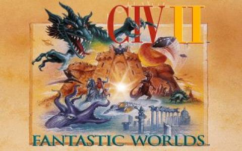 Civilization 2: Fantastic Worlds - title cover