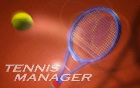 Tennis Manager - title cover
