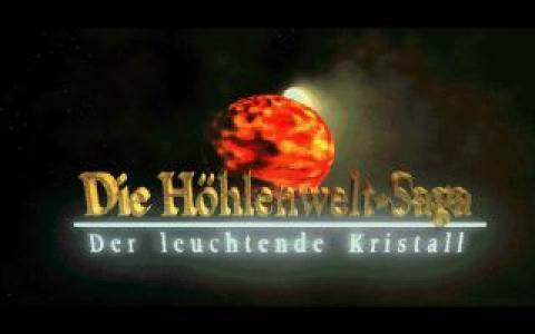 Die Höhlenwelt-Saga: Der leuchtende Kristall - title cover