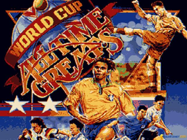 World Cup: All time greats - title cover