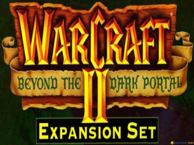 Warcraft 2: Beyond the Dark Portal - title cover