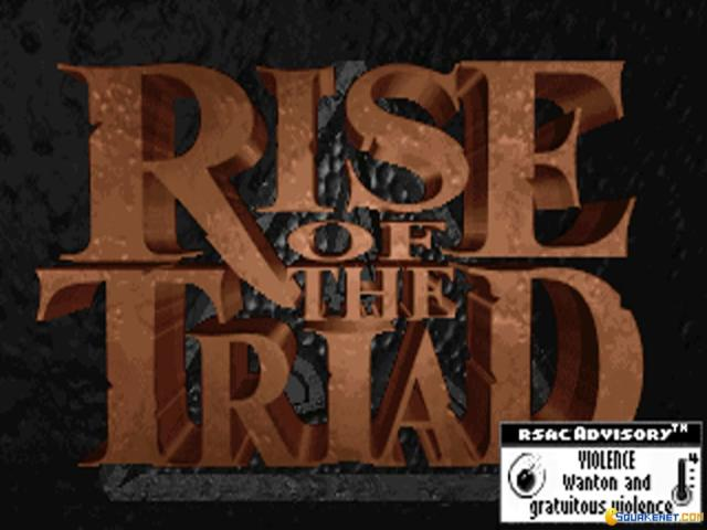 Rise of the Triad: The HUNT Begins - title cover