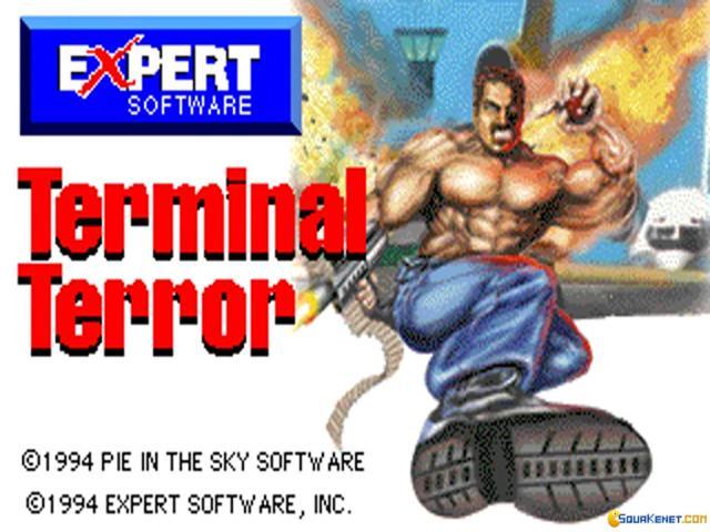 Terminal Terror - game cover