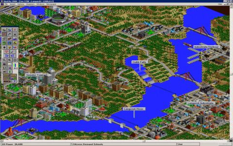 SimCity 2000: Great Disasters - game cover